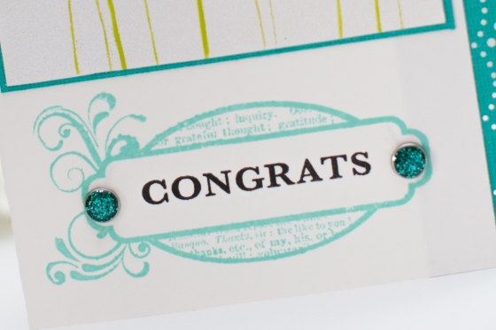 Congrats card. Serine Designs blog
