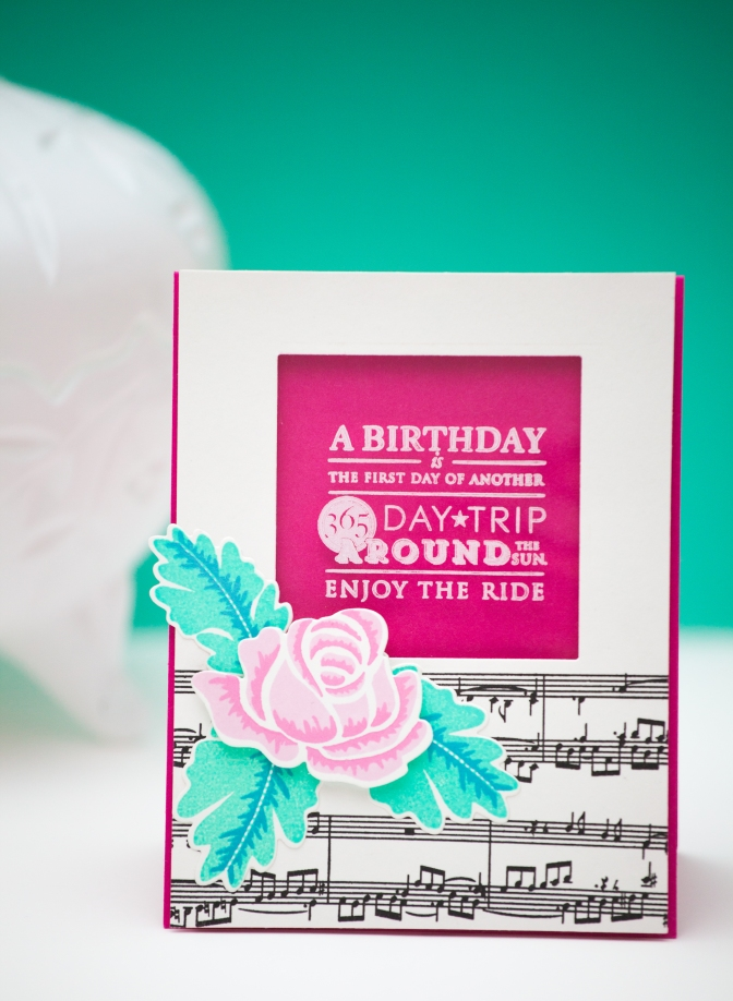 PTI Birthday card- Serine Designs blog
